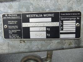 Westfalia Haubenanhaenger
