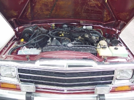 Der Jeep Wagoneer aus dem Jahre 1981